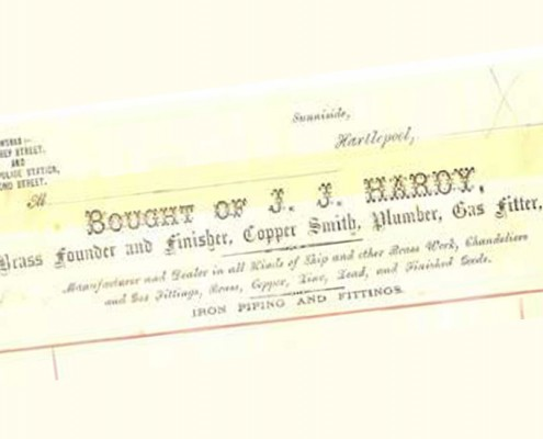 An 1870's Letterhead from Bond Street