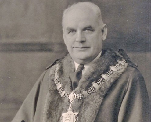 Ald. T.H. Pailor, Mayor of Hartlepool 1941-1944