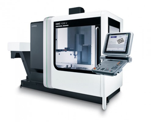 Quality rail spares iso approved cnc machinists for Dmg deckel maho